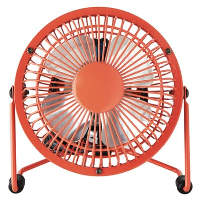 Mini ventilatore Equation Lara rosso