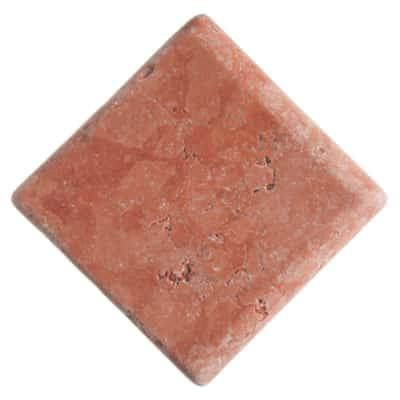 Angolo Marmo rosso 13 x 13 cm