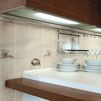 Piastrella arena 20 x 20 cm beige prezzi e offerte online for Adesivi mattonelle cucina