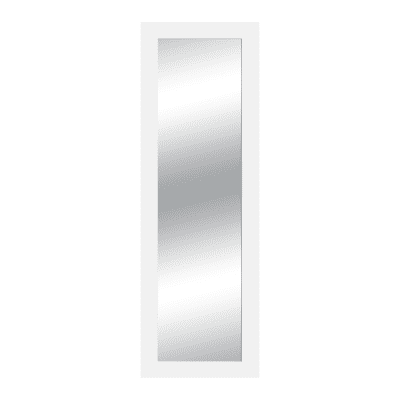 Specchio da parete rettangolare wally bianco 72 x 182 cm prezzi e offerte online leroy merlin - Specchio rettangolare da parete ...