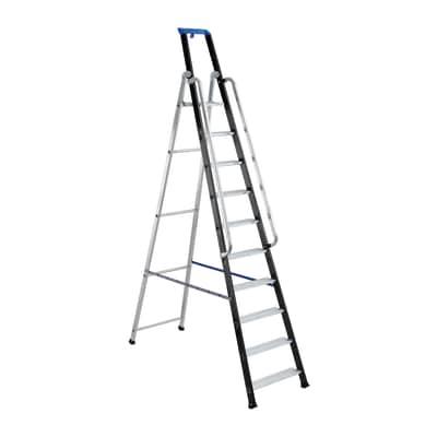 Scala doppia alluminio Gierre 10 gradini, per lavori fino a 4,3 m