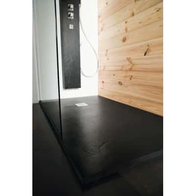 Piatto doccia resina Pizarra 170 x 80 cm nero