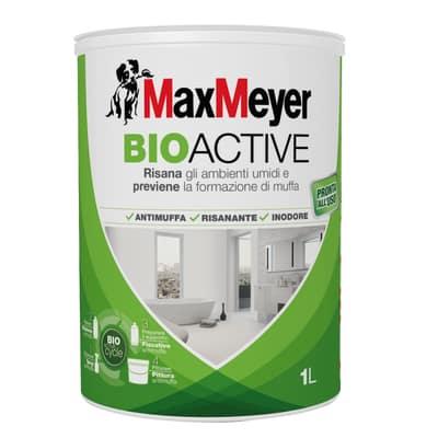 Idropittura antimuffa bianca Max Meyer Bioactive 1 L