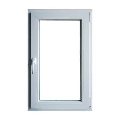 finestra pvc bianco l 60 x h 100 cm dx prezzi e offerte