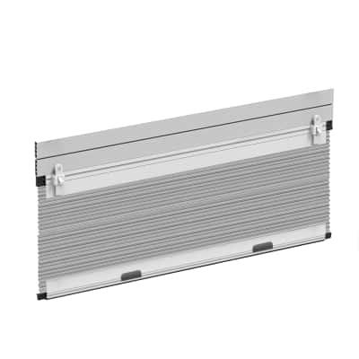 Zanzariera in kit plissettata per tapparella bianco L 100 x H 160 cm, spessore telaio 50 mm