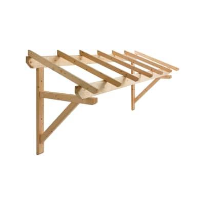 Tettoia in legno l 299 x p 70 cm prezzi e offerte online for Tettoia legno leroy merlin