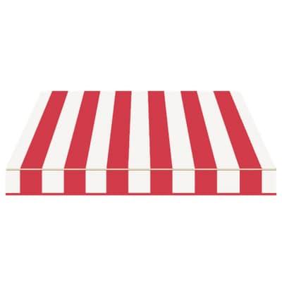 Tenda da sole a bracci Tempotest Parà 240 x 210 cm avorio/rosso Cod. 39