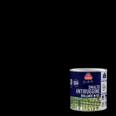 Smalto per ferro antiruggine Boero nero brillante 0,5 L