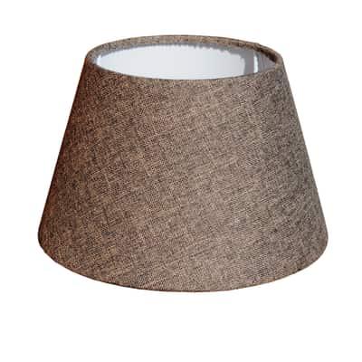 Paralume per lampada da tavolo personalizzabile impero marrone prezzi e offerte online leroy - Paralumi per lampade da tavolo ...