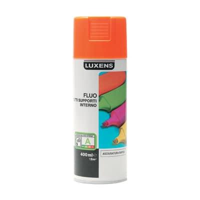 Smalto spray Fluo Luxens arancio fluorescente 400 ml