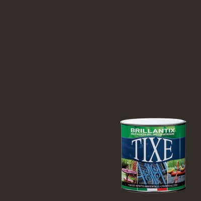 Smalto per ferro antiruggine Tixe Brillantix verde brillante 2,5 L
