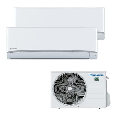Climatizzatore fisso inverter dualsplit panasonic btu for Condizionatori leroy merlin