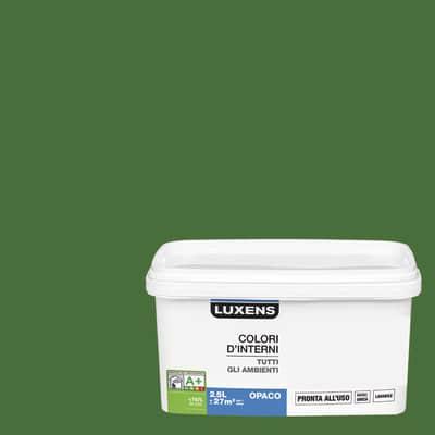Idropittura lavabile Mano unica Verde Pistacchio 3 - 2,5 L Luxens