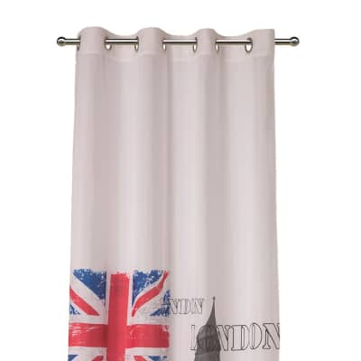 Tenda Metropolitan London multicolor 140 x 280 cm