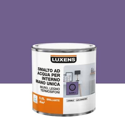 Smalto manounica Luxens all'acqua Viola Elisir 3 brillante 0.5 L