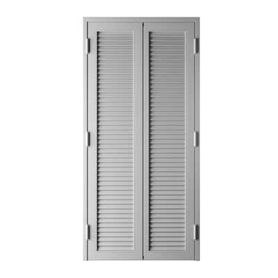 Persiana blindata Vesta grigio chiaro L 120 x H 220 cm