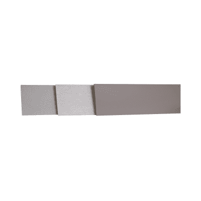 Alzatina su misura laminato pietra lavica H 10 cm