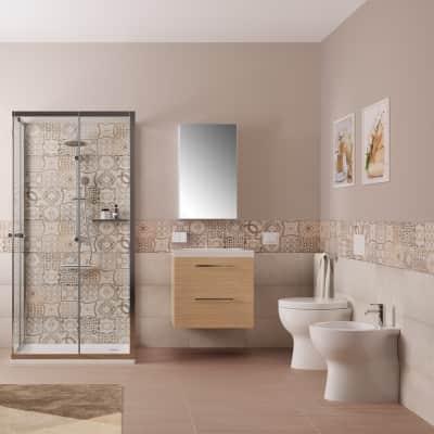 Mobile bagno Remix rovere L 60 cm