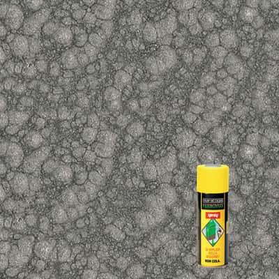 Smalto per ferro antiruggine spray Saratoga Fernovus grigio martellato 0,4 L