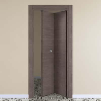 Porta da interno pieghevole Autumn 80 x H 210 cm dx