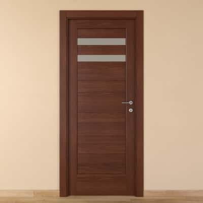 Porta da interno battente Malawi 2 80 x H 210 cm sx