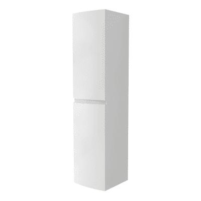 Colonna Vague bianco 2 ante L 40 x H 170 x P 38 cm
