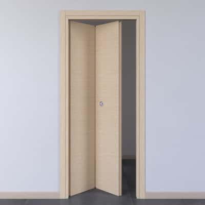 Porta da interno pieghevole Spring rovere chiaro 70 x H 210 cm sx