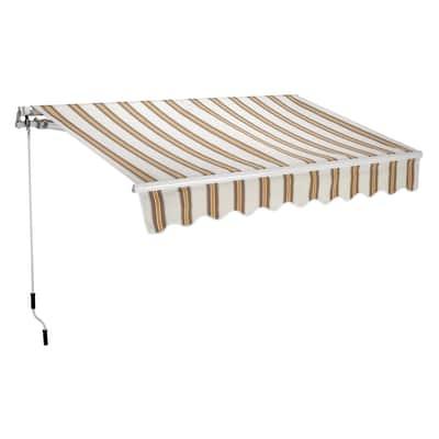 Tenda Da Sole A Bracci Estensibili Su Barra Quadra 300 X 200 Cm