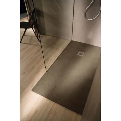 Piatto doccia resina Elements 140 x 80 cm terra