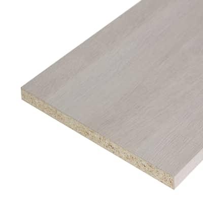 Pannello melaminico rovere chiaro 25 x 600 x 2500 mm