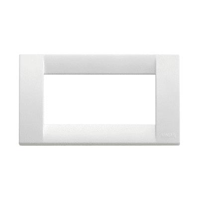 Placca 4 moduli Vimar Idea bianco brillante