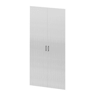 Set 2 ante Spaceo bianco L 45 x P 2 x H 192 cm