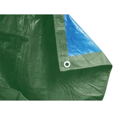 Telo protettivo occhiellato 6 x 2 m 90 g/m²