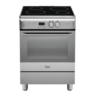 Cucina freestanding elettronica sottomanopola Hotpoint H6IMAAC (X)