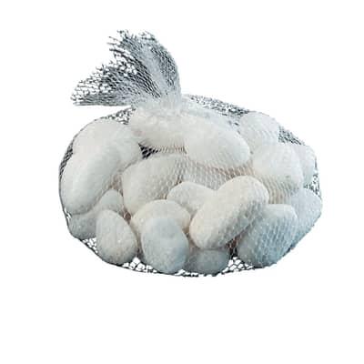 Sassi decorativi bianco 1000 g