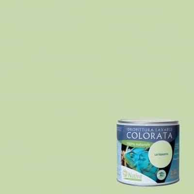 Idropittura lavabile Bio lattementa 2,5 L Nativa