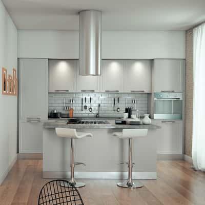 Cucina Delinia Newport grigio prezzi e offerte online | Leroy Merlin