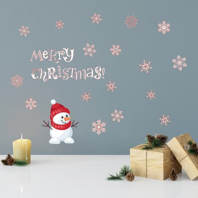 Sticker ML Xmas Snowman