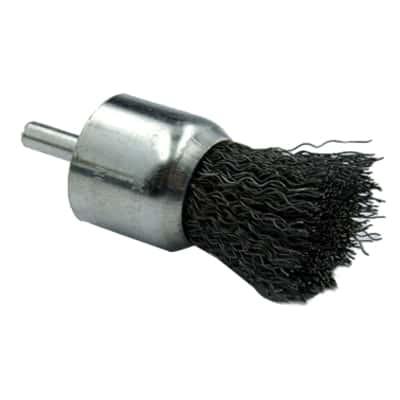 Spazzola in acciaio per trapano