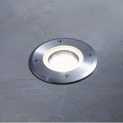 Faretto incasso per esterno a pavimento Atlanta LED Ø 21 cm IP67