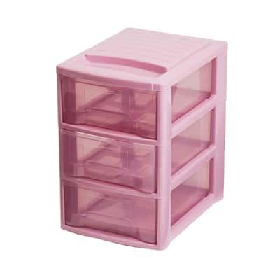 Cassettiera Empire rosa