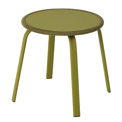 Tavolino Veracruz, Ø 40 cm verde
