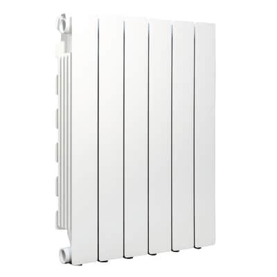 Radiatore Modern in alluminio 6 elementi interasse 600 mm