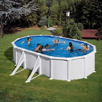 Piscina ovale wet 610 x 375 cm prezzi e offerte online for Attrezzi per piscina