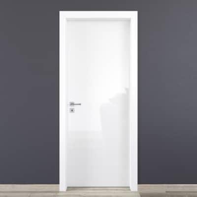 Porta da interno battente Bright 70 x H 210 cm reversibile