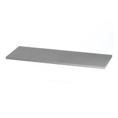 Ripiano Logo grigio L 90 x P 33 x H 2,2 cm