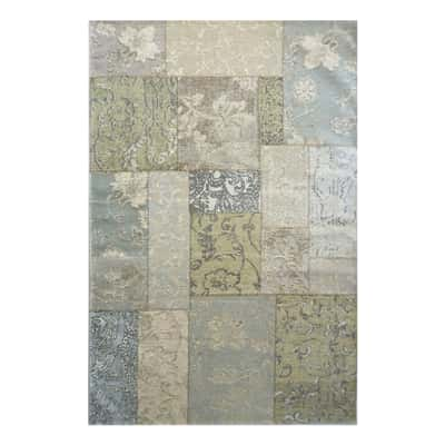 Tappeto modern kilim ecru 135 x 190 cm prezzi e offerte for Tappeti kilim leroy merlin