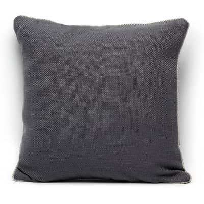 Cuscino Delio grigio 40 x 40 cm
