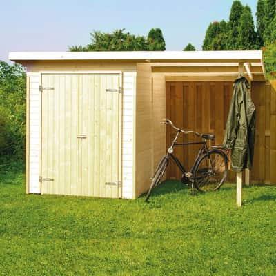 casetta in legno grezzo Wels 2,89 m², spessore 14 mm