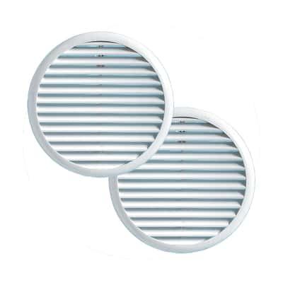 Griglia di aerazione con molle Ø 175 mm